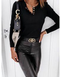 Дамска блуза в черно - код 4175