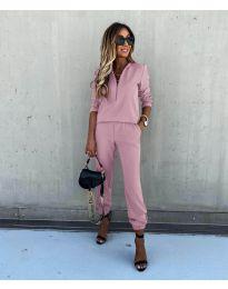 Дамски комплект в розово - код 3349