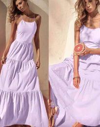Феерична рокля в лилаво - код 2991