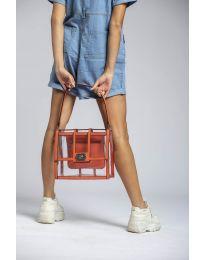 Дамска чанта в оранжево - код LS543