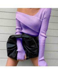 Елегантна блуза в лилаво - код 6250