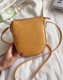 Дамска чанта в цвят горчица - код B455