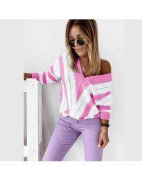 Дамска блуза в розово - код 0907