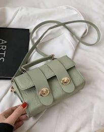 Дамска чанта в цвят мента - код B448