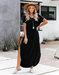 Ежедневна рокля в черно - код 3254