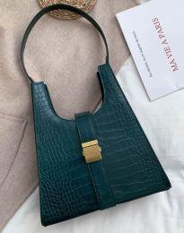 Дамска чанта в тъмнозелено - код B418