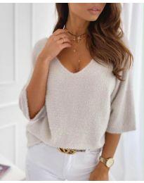Дамска блуза в сиво - код 901