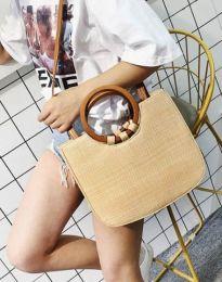 Дамска чанта в бежово - код B478