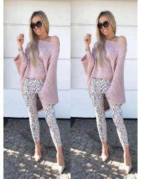 Дамска блуза в розово - код 937