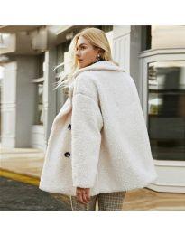 Дамско палто в бежово - код 4777