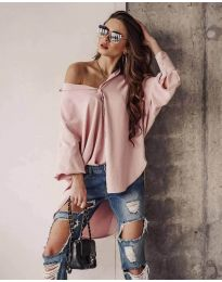 Дамска риза в розово - код 2300