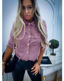 Дамска риза в лилаво - код 102