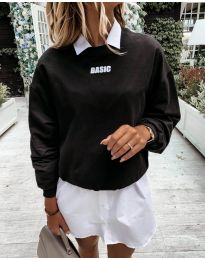 Дамска блуза в черно - код 5154
