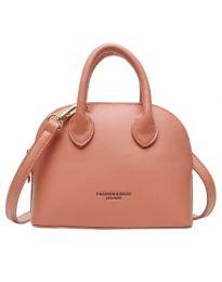 Дамска чанта в цвят корал - код B66