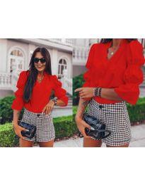 Елегантна риза в червено - 913