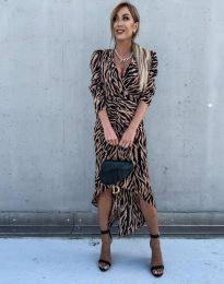 Ефектна дамска рокля - код 2860 - 2