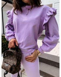 Дамска блуза в лилаво - код 6613