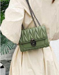 Дамска чанта в зелено - код B419