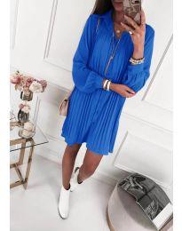 Свободна рокля в синьо - код 427