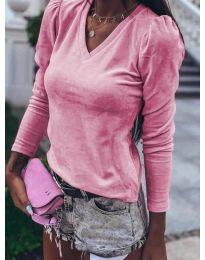 Дамска блуза в розово - код 0755