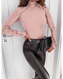 Дамска блуза в розово - код 4179