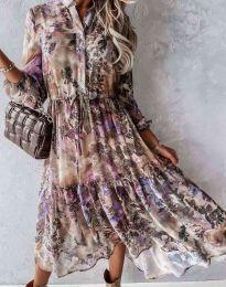 Атрактивна дамска рокля - код 9660 - 1