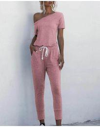 Дамски гащеризон в розово - код 510