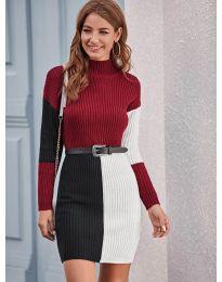 Атрактивен модел рокля - код 9935 - 3