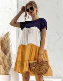 Свободна дамска рокля - код 1039 - 3