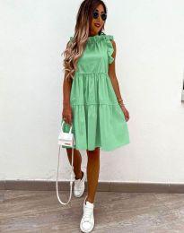 Феерична рокля в зелено - код 2663