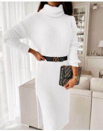 Дамска рокля в бяло - код 2026