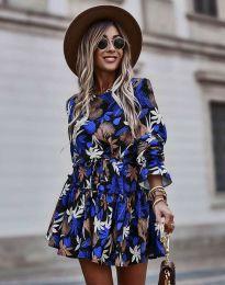 Ефектна дамска рокля - код 2983 - 7