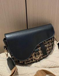 Атрактивна дамска чанта в черно - код B297