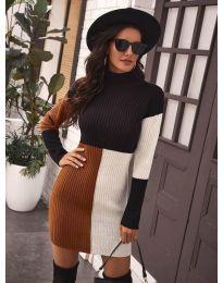 Атрактивен модел рокля - код 9935 - 2