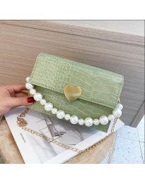 Дамска чанта в зелено - код B35/7786