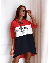 Дамска спортна рокля - код 9090-3