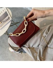 Дамска чанта в бордо - код B41