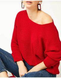 Дамска блуза в червено - код 831
