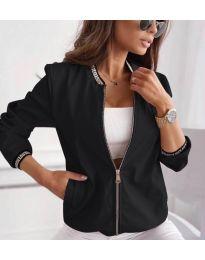 Дамско яке в черно - код 2081