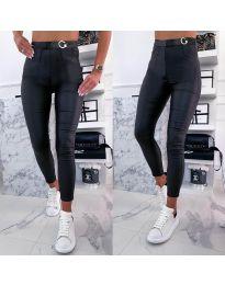 Дамски панталон в черно - код 8211
