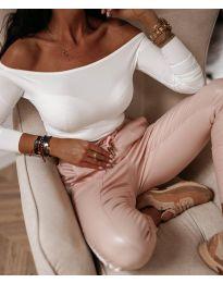 Блуза в бял цвят - код 3674
