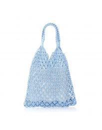 Дамска чанта в светло синьо - код CF009-25