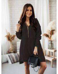 Дамска рокля в черно - код 6113