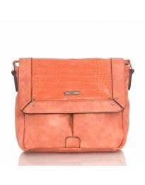 Дамска чанта в оранжево - код  Y81914-1
