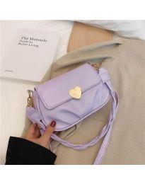Дамска чанта в лилаво - код B81