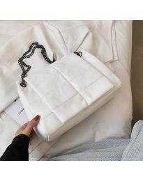 Дамска чанта в бяло - код B506