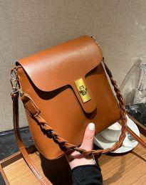 Дамска чанта в меднокафяво - код B328