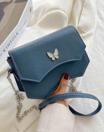 Дамска чанта в цвят тюркоаз - код B434
