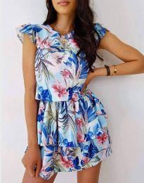 Атрактивна дамска рокля с флорален десен - код 7398 - 4