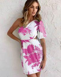 Атрактивна рокля с едно рамо - код 4650 - 7